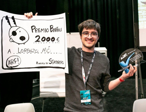 Lorenzo Mò ha vinto il premio Lorenzo Bartoli 2019!